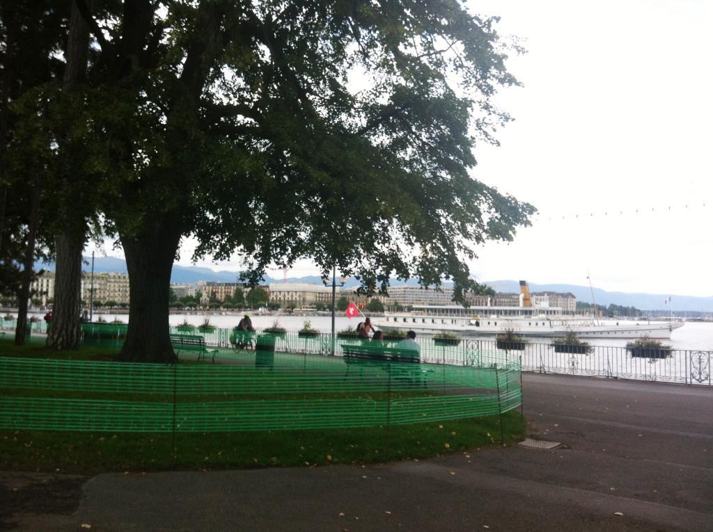 Jardin anglais en quarantaine touristes d pit s ghi for Le jardin anglais geneve