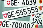 Des plaques qui attisent la convoitise des chasseurs de numéros rares. DR