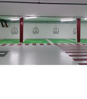 136 places de recharge sont réparties dans 17 parkings, à disposition des automobilistes. DR