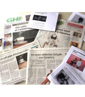 L'annonce d'une future ouverture d'un café-pipe à Genève, avait fait le buzz dans la presse. DR