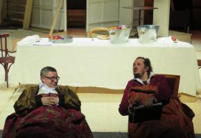 Une adaptation de l'œuvre de Nikolaï Gogol, mise en scène par F. Polier. DR