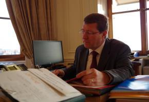 Le magistrat Mauro Poggia (GE) est bien décidé à faire bouger les choses! DR