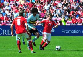 Le 28 mai 2016, le match Suisse-Belgique avait attiré 20'000 spectateurs  au Stade de Genève. STéPHANE CHOLLET