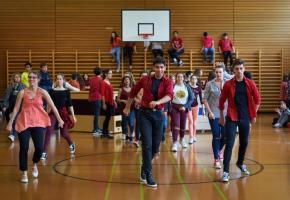 Jeunes artistes et élèves du Cycle en pleine répétition.  MARC HEIMENDINGER