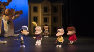 Titeuf et sa bande de potes en marionnettes à fils: un spectacle qui promet! DR