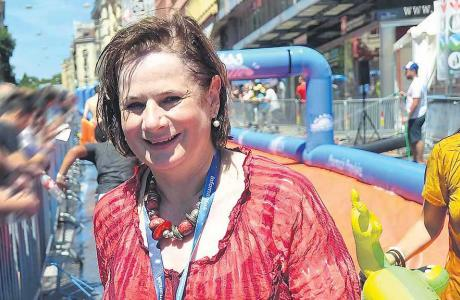 Esther Alder, magistrate en charge du Département de la cohésion sociale et de la solidarité.  STEPHANE CHOLLET