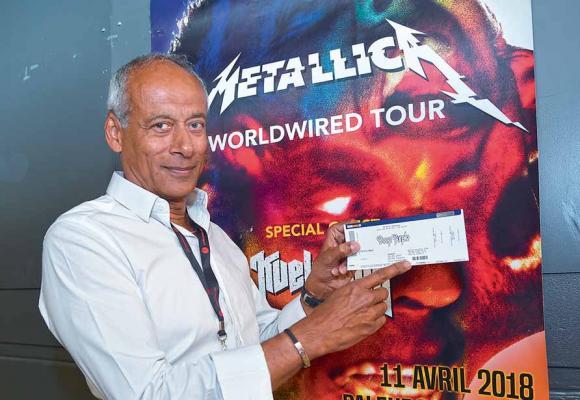 Michael Drieberg, directeur de Live Music Production, prend des mesures drastiques contre le marché noir. JOSEPH CARLUCCI Michael Drieberg (ci-contre), fera figurer nom et prénom de l'acheteur sur les billets du concert de Metallica. DR