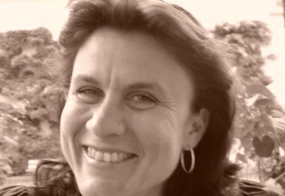 Sandra Joly, journaliste.