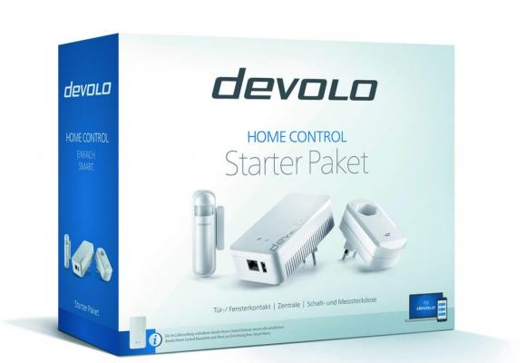 Le kit Devolo Home Control. DR