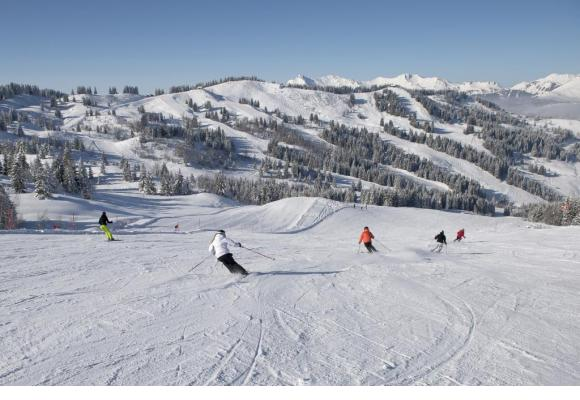 Un des plus grands domaines skiables au monde. DR