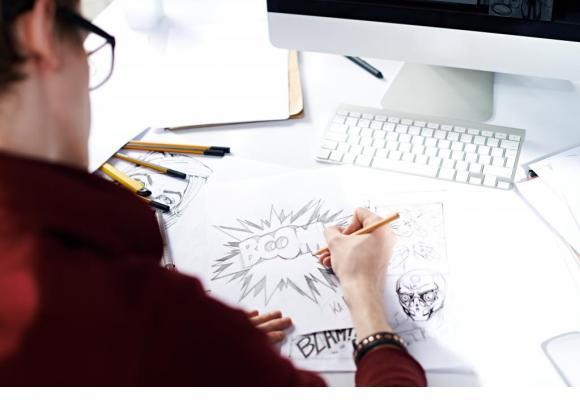 Une formation spécifiquement orientée vers la BD et l'illustration. GETTY IMAGES/MEDIAPHOTOS