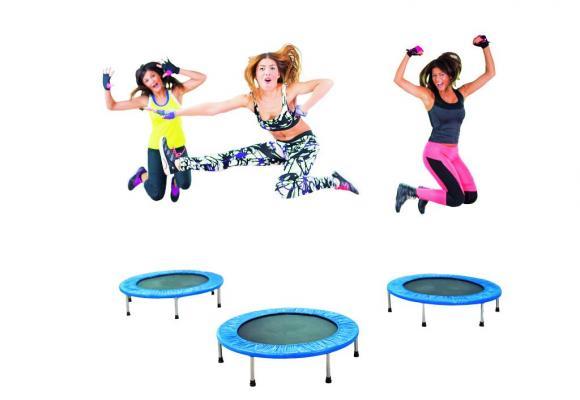 Une musique tonique et un mini-trampoline: le sport peut être ludique! GETTY IMAGES