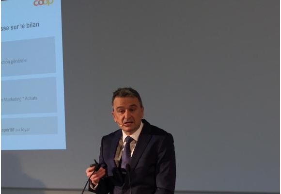 Joss Sutter, directeur de Coop Suisse. DR