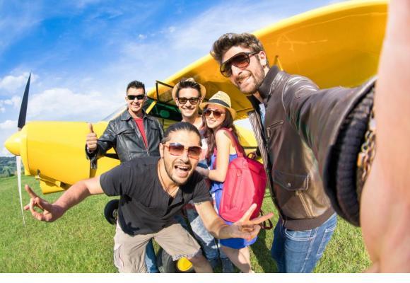 Une journée placée sous le signe de la découverte de fabuleux engins volants. GETTY IMAGES/VIEWAPART