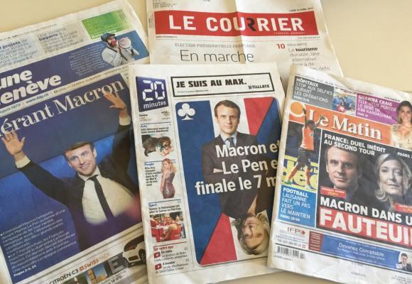 Qui de Marine Le Pen ou Emmanuel Macron l'emportera? Réponse le 7 mai prochain! DR