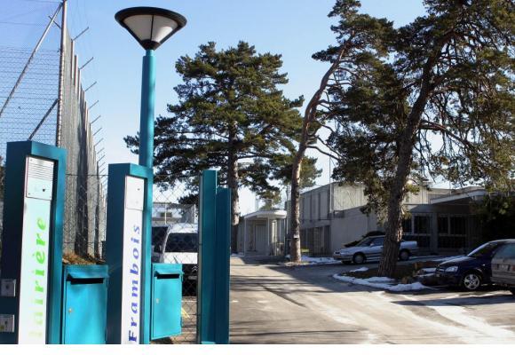 Les délinquants administratifs avec passé pénal, restent dans les établissements de Favra et Frambois jusqu'à l'expulsion. DR