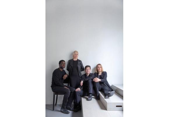 Cédric Djedje, Brigitte Raul, Jean-Luc Farquet et Erika von Rosen. OLIVIER VOGELSANG
