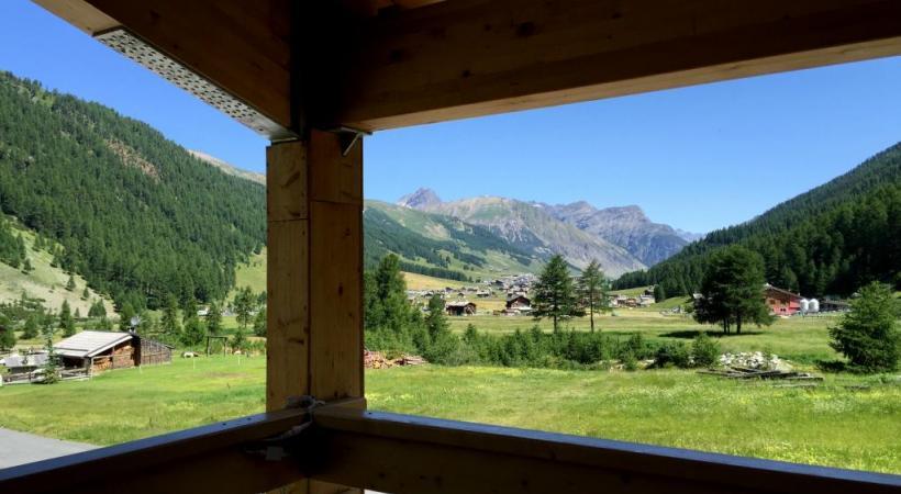 Livigno la douce alpine ghi Architecture traditionnelle