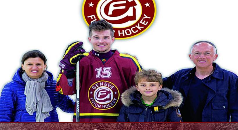 L'association Genève Futur Hockey recherche des familles pour héberger de jeunes as de la rondelle. Une initiative qui prépare autant l'avenir des jeunes joueurs que du club. DR