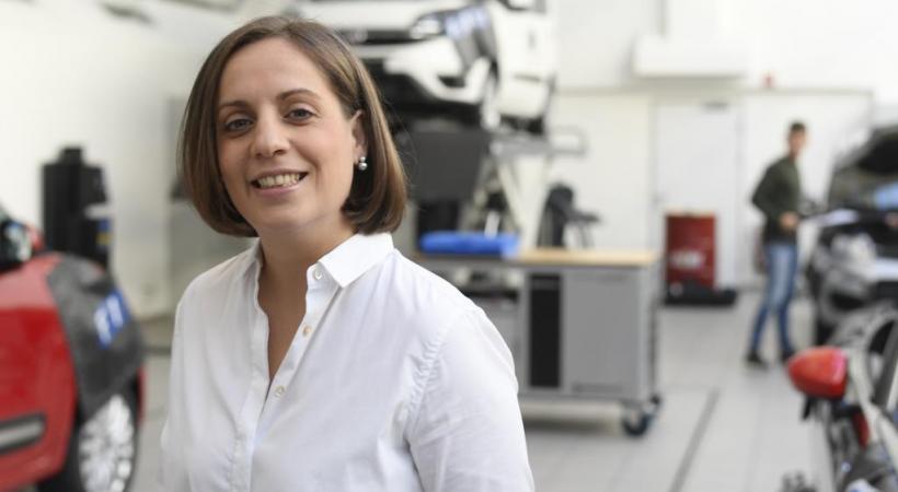 Maria Grazia Davino, nouvelle directrice de Fiat Chrysler Automobile Suisse.