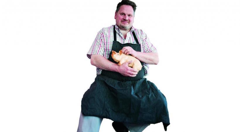 Eric Muller, boucher aux Grottes. PASCAL BITZ
