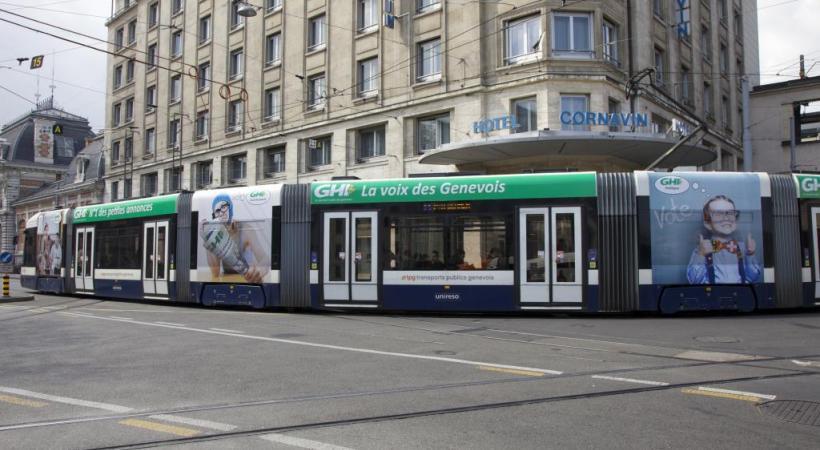 A vous de nous surprendre avec un selfie devant le tram «GHI»! DR