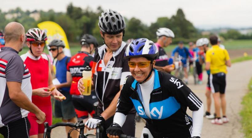 Le Tour du canton à bicyclette, c'est chouette. Surtout avec Paulette… TCS/DR